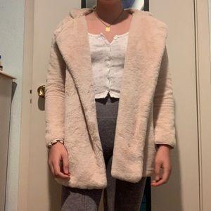 Brandy Melville Sandra faux fur coat